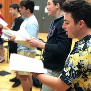 School of Orchestral Studies students performing