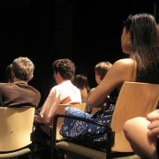 School of Theatre students in class